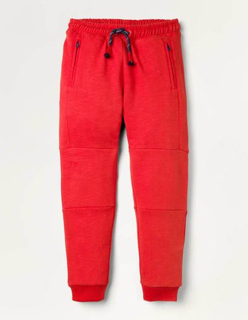 Warrior Knee Sweatpants - Rockabilly Red