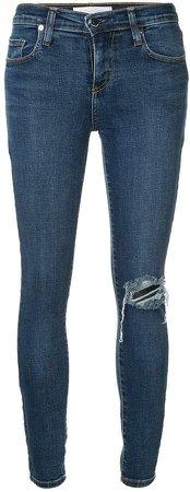Geo skinny-fit jeans