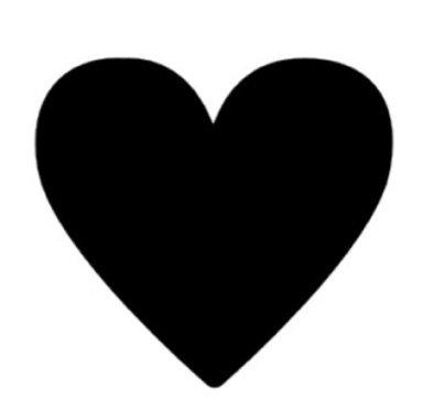 Black heart filler