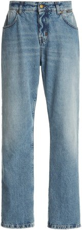 Tom Ford Mid-Rise Tapered Jeans