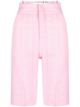 Shop pink Jacquemus Le short Gardian shorts with Express Delivery - Farfetch