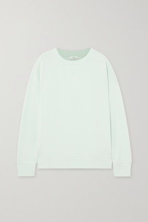 Cotton-jersey Sweatshirt - Green