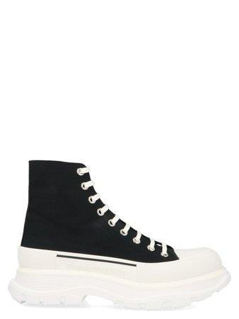 Alexander McQueen Alexander Mcqueen 'tread Slick' Shoes - Nero bianco - 11181526   italist