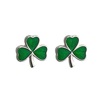 shamrock earrings - Google Search