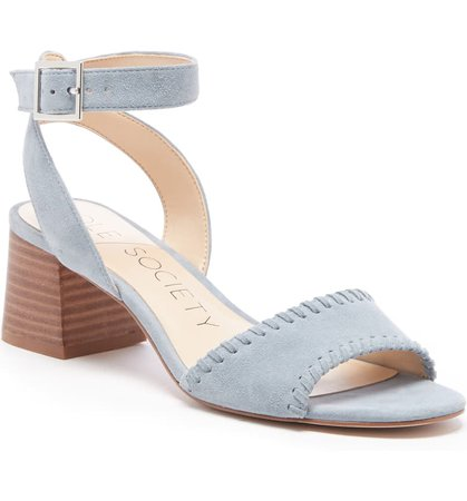 Sole Society Sylie Ankle Strap Sandal (Women)   Nordstrom