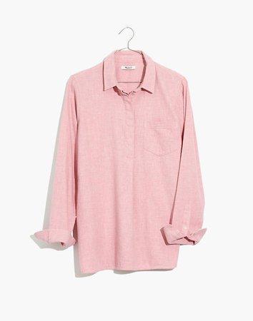 Flannel Classic Ex-Boyfriend Button-Back Shirt