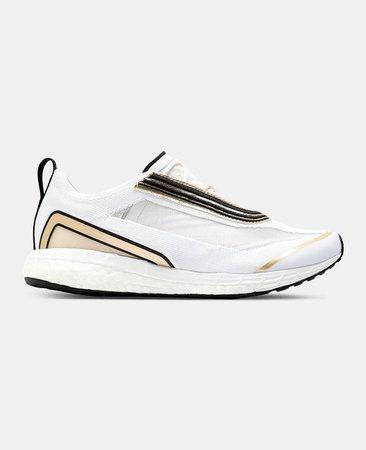 White Boston Running Sneakers, Women's