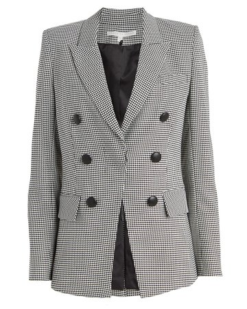 Veronica Beard | Leon Houndstooth Dickey Blazer | INTERMIX®