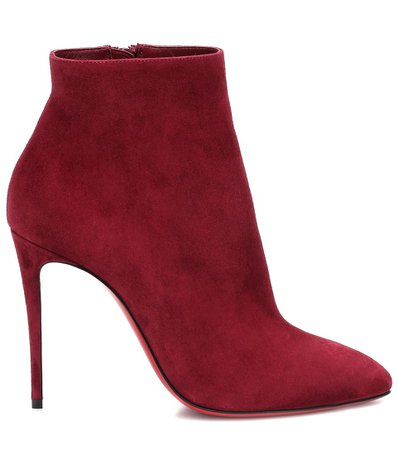 Christian Louboutin, Eloise 100 suede ankle boots