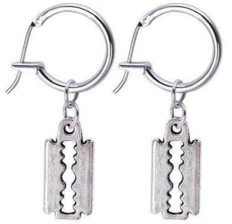 Razor Earrings
