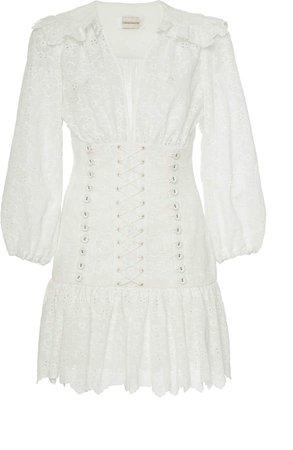 Honour Corset Cotton Mini Dress