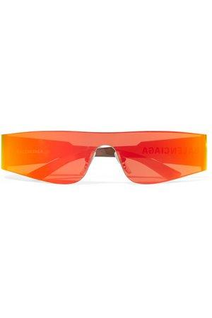 Balenciaga   Square-frame acetate mirrored sunglasses   NET-A-PORTER.COM