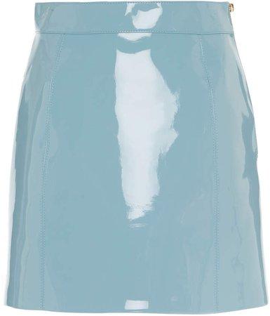 Vinyl Mini Skirt Size: 42