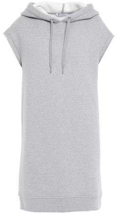 Oversized Cotton-blend Fleece Hooded Sweatshirt