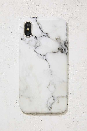 White Marble iPhone X Case | Urban Outfitters