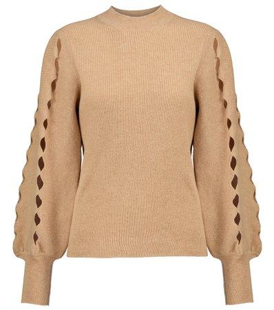 Chloe Wool-Blend Sweater