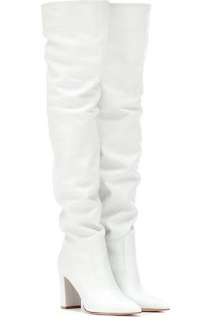 white thigh high boots - Gianvito Rossi