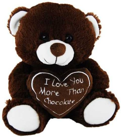 I Love You More Than Chocolate Teddy Bear