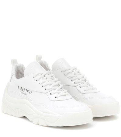 VALENTINO GARAVANI Valentino Garavani leather sneaker
