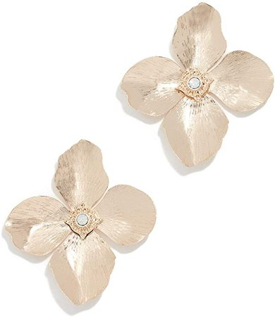 Amazon.com: Shashi Women's Blossom Earrings, Gold, One Size: Jewelry