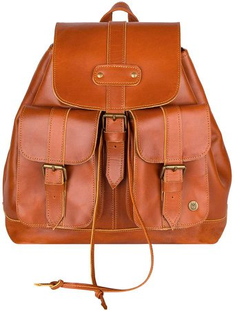 MAHI Leather Leather Nomad Backpack In Tan