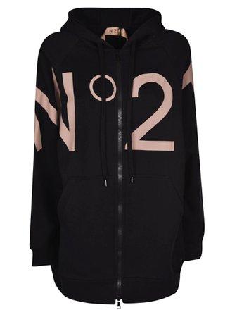 N.21 Logo Printed Oversized Jacket