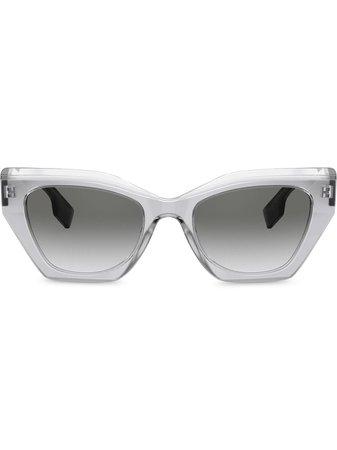Burberry Eyewear Solglasögon i oversize-modell - Farfetch