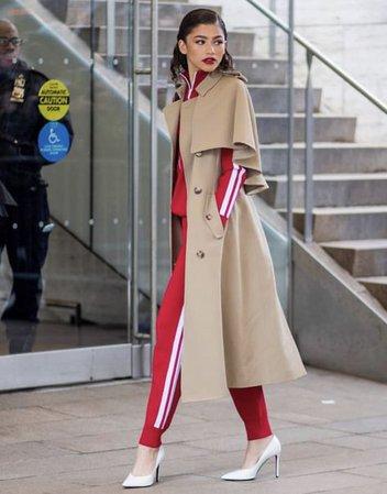 Zendaya in Michael Kors Outfit