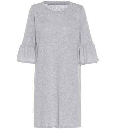 Annabelle cotton-blend dress