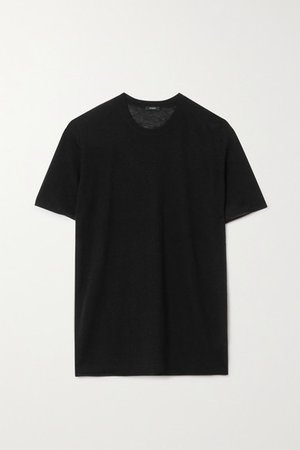 Cashmere T-shirt - Black