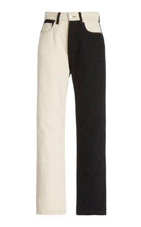 Kemia Straight Leg Jeans By Nanushka   Moda Operandi