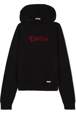 BLOUSE | Divine appliquéd cotton-jersey hoodie | NET-A-PORTER.COM