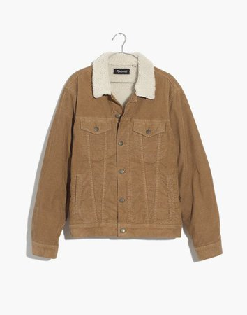 Sherpa Classic Jean Jacket: Corduroy Edition