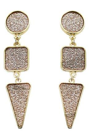 Panacea Geo Drop Earrings | Nordstrom