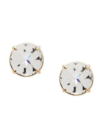 Miu Miu Oversized Crystal Earrings | Farfetch.com