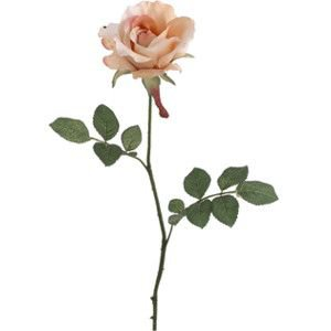 "27"" Champagne Open Silk Rose 