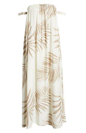 BB Dakota Palm Down Off the Shoulder Sundress | Nordstrom