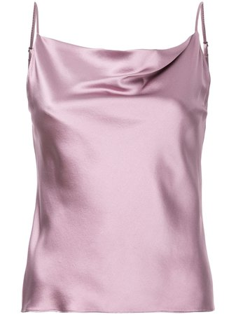 Fleur Du Mal Cowl Neck Cami Top Aw19 | Farfetch.com