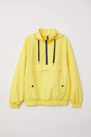 Hooded Anorak - Yellow