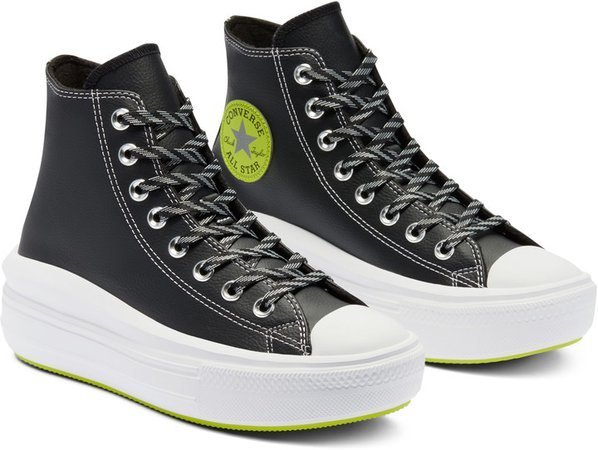 Chuck Taylor(R) All Star(R) High Top Platform Sneaker