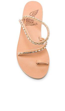 Ancient Greek Sandals Apli Eleftheria Diamonds Sandal in Natural | REVOLVE
