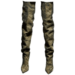 thigh high boots png