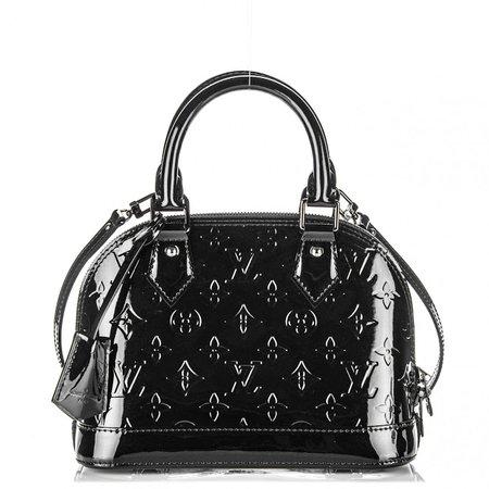 Louis Vuitton Black Patent Leather Bag