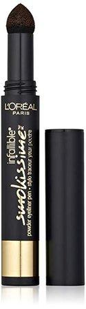 L'Oreal Paris Infallible Smokissime Powder Eyeliner, Brown Smoke