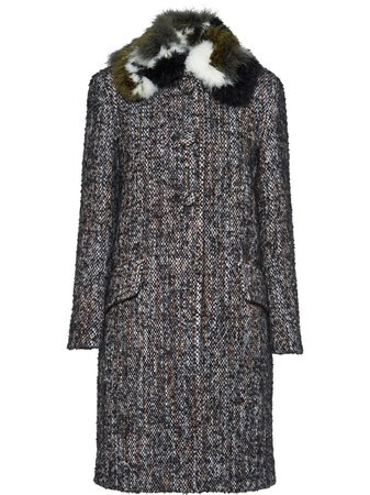 Miu Miu, Bouclé Tweed Coat