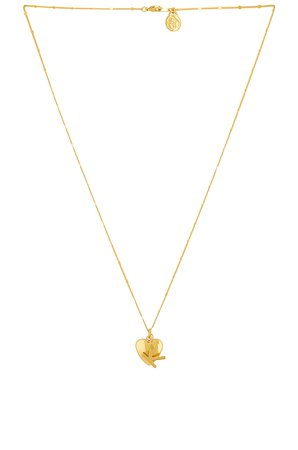 Cloverpost Cherish Necklace in Yellow Gold | REVOLVE