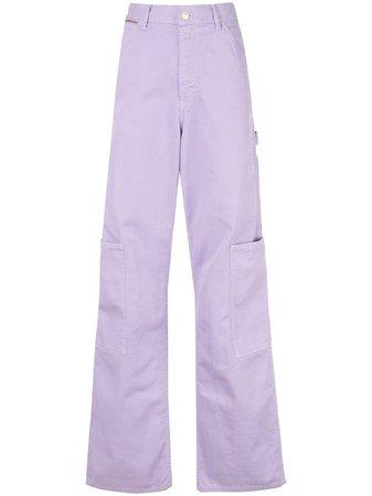 Marc Jacobs The Carpenter Pant D4000001530 Purple | Farfetch