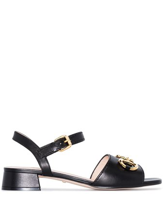 Gucci Horsebit Leather Sandals - Farfetch