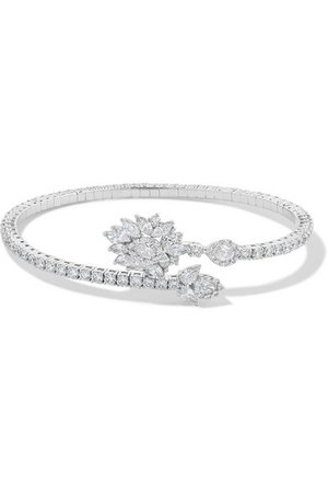 YEPREM | 18-karat white gold diamond bracelet | NET-A-PORTER.COM