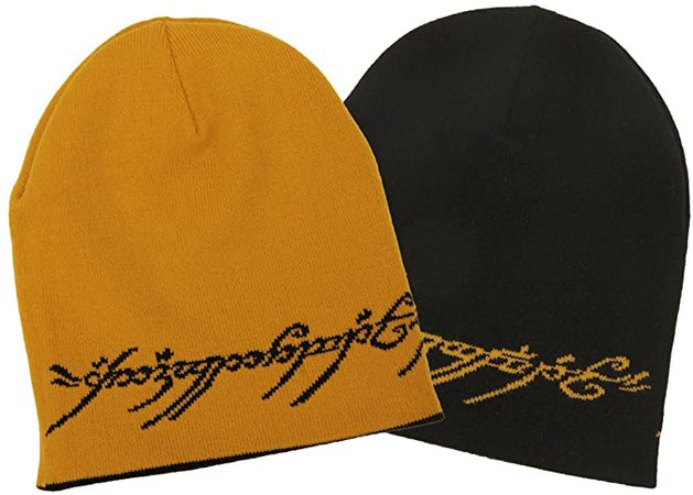 Amazon.com: Elope Lord Of The Rings One Ring Slouch Beanie: Clothing